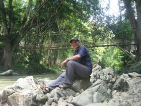 Jembatan di Baduy Luar