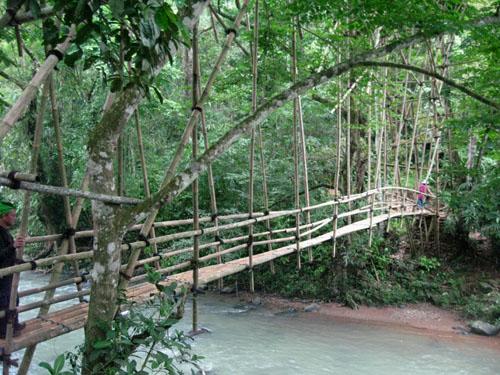 Jembatan masuk ke Baduy Dalam