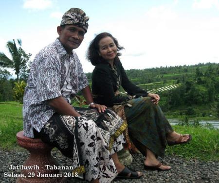 Jatiluwih - Tabanan - Bali 29 Januari 2013
