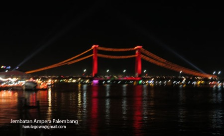 Jembatan Ampera River side