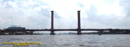 Jembatan Ampera Sungai Musi
