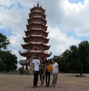 Pagoda Pulau Kemaro 14 Sep 2013