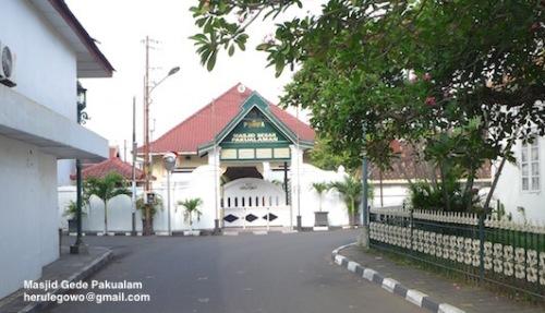 Pakualam Masjid